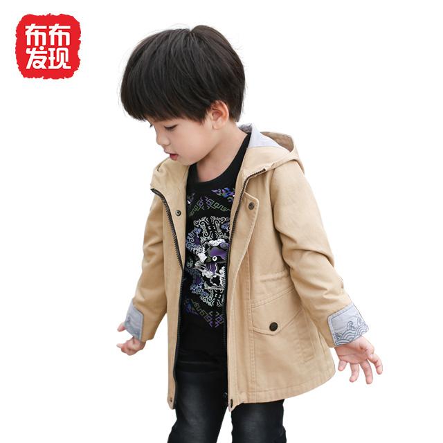 布布发现童装男童上衣长袖外套